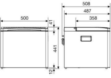 Dometic CombiCool RC 1600 EGP 29 (30) mbar